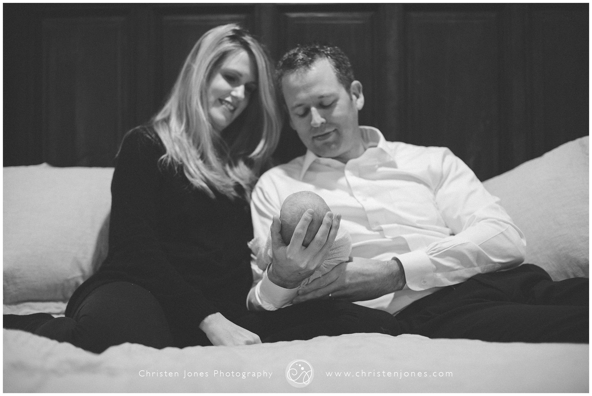Welcoming Newborn Baby Virginia || Memphis Lifestyle Photographer || Christen Jones Photography